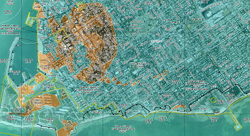 Example FEMA Flood Map 25%